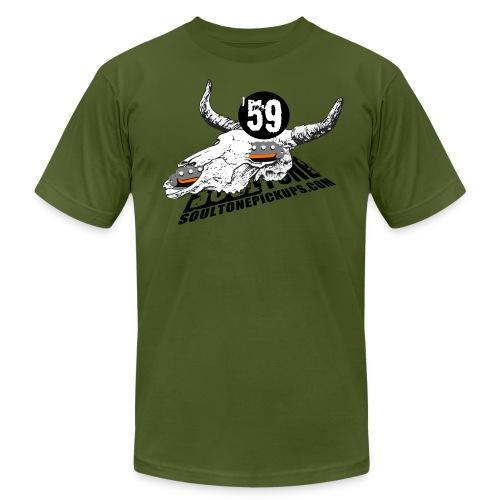 59 Texas Blues - Men's Fine Jersey T-Shirt