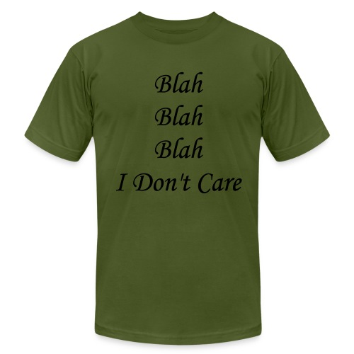 blah blah blah - Men's Fine Jersey T-Shirt