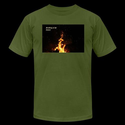 the flames - Men's Fine Jersey T-Shirt