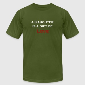 Father's day Graphic T shirt and Collections - Men's T-Shirt by American Apparel