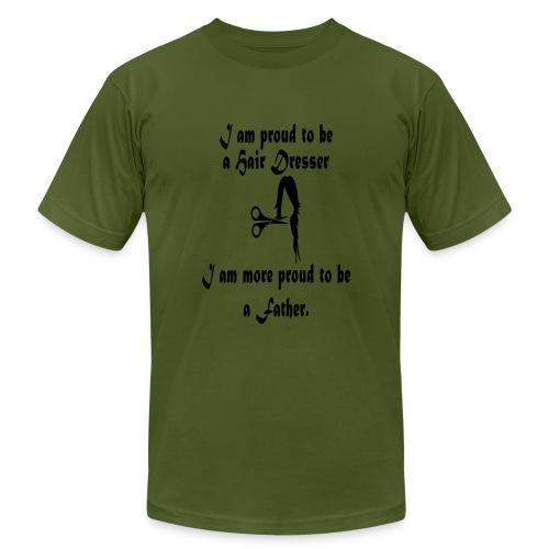 Hair Dresser Father - Men's Fine Jersey T-Shirt