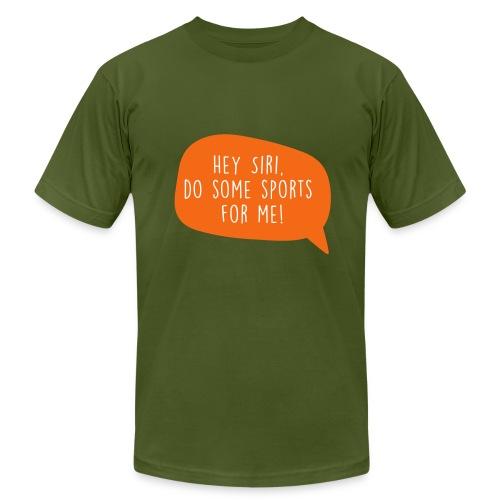 Motiv Hey Siri mach Sport fuer mich 3 - Men's Fine Jersey T-Shirt