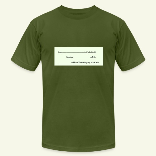 Keep Playing - Men's Fine Jersey T-Shirt