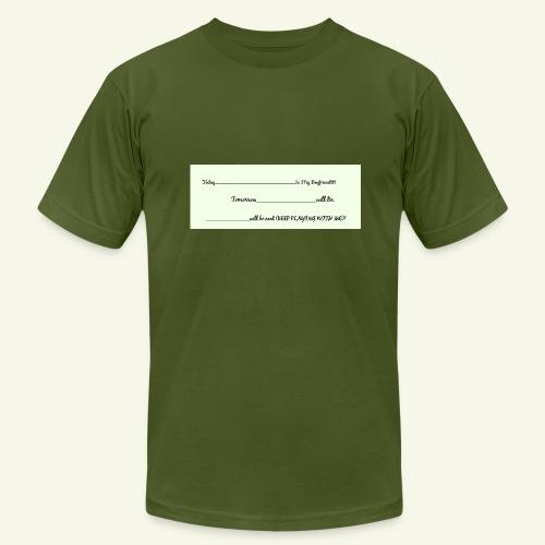 Keep Playing - Men's  Jersey T-Shirt