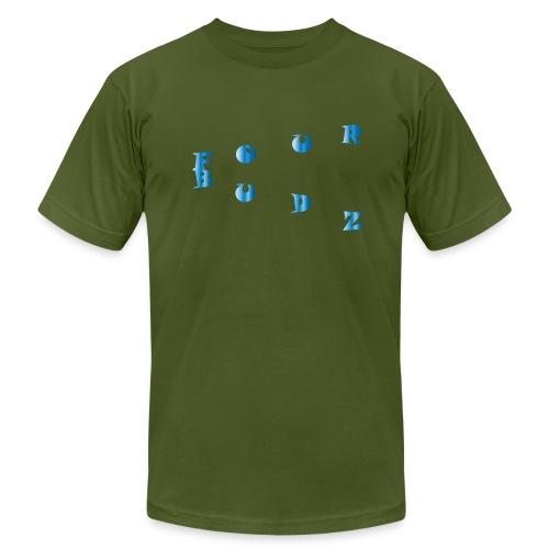 blue gradient 1 - Men's  Jersey T-Shirt
