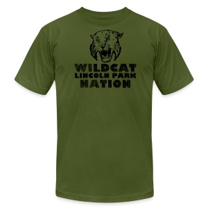 Wildcat Nation - Men's T-Shirt by American Apparel