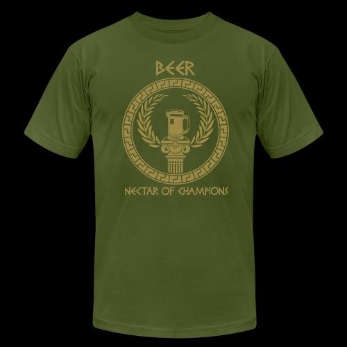 Beer: Nectar of Champions - Men's Fine Jersey T-Shirt