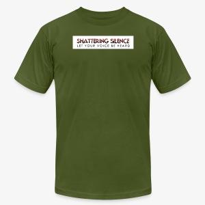 Shattering Silence T-Shirts - Men's Fine Jersey T-Shirt