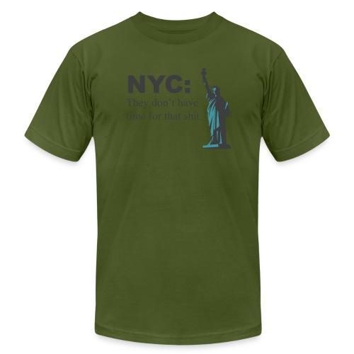 nyc!!! - Men's Fine Jersey T-Shirt