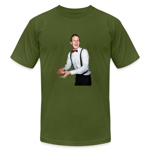 Matt Orange shirt. Christmas presant. - Men's Fine Jersey T-Shirt