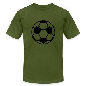 soccer zai - Men's Fine Jersey T-Shirt