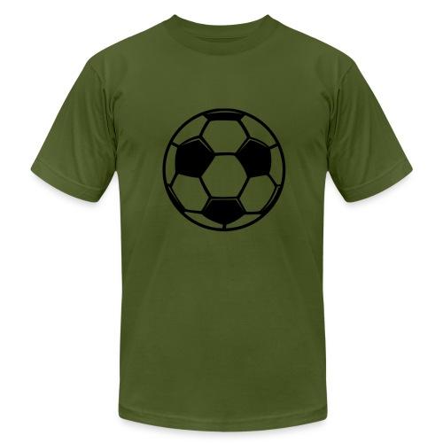 soccer zai - Men's  Jersey T-Shirt