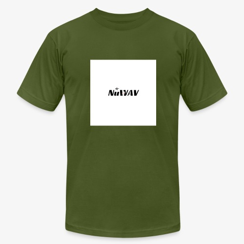 NuWAV Logo - Men's Fine Jersey T-Shirt