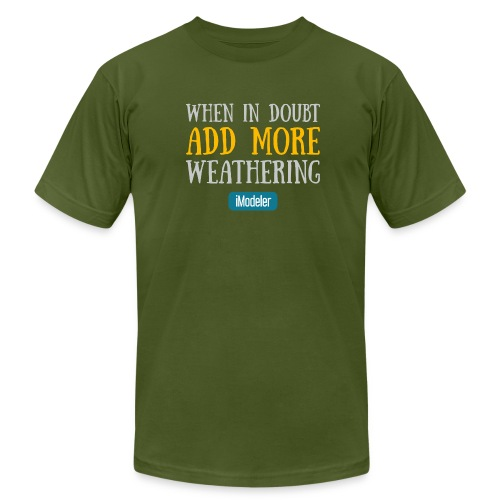 When In Doubt Add More Weathering - Men's Fine Jersey T-Shirt