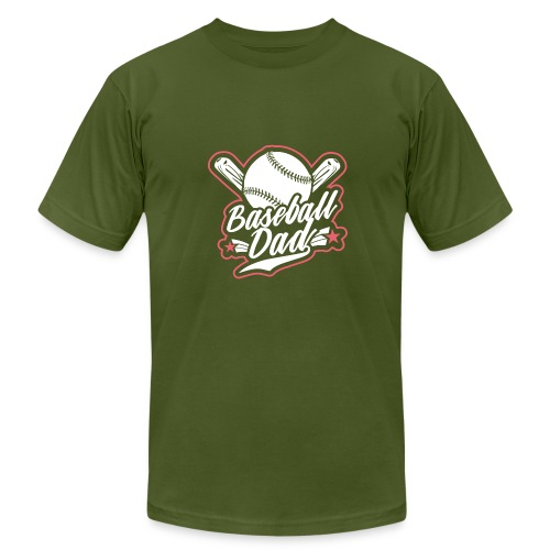 baseballdad 4 - Men's Fine Jersey T-Shirt