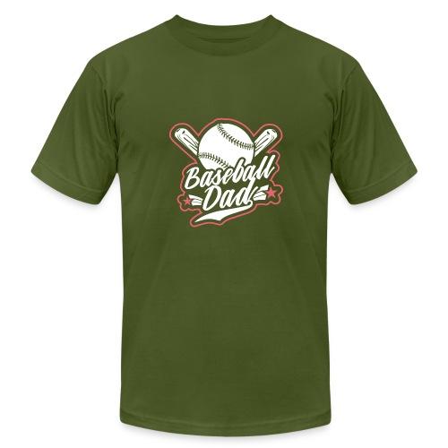 baseballdad 4 - Men's  Jersey T-Shirt