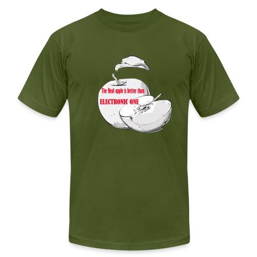 APPLE - Men's Fine Jersey T-Shirt