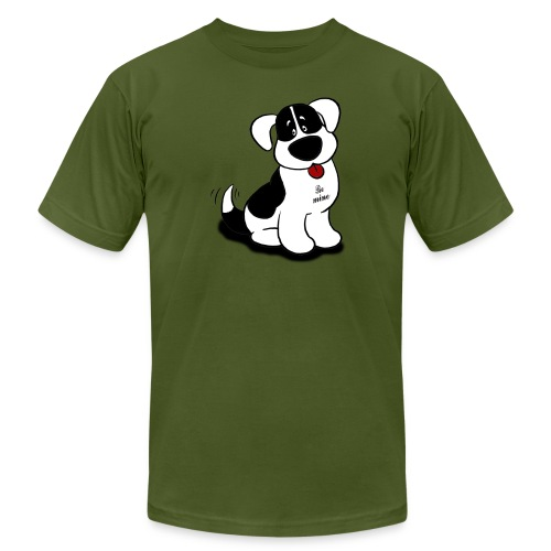 Be Mine Dog - Men's Fine Jersey T-Shirt