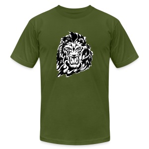 DP Branded-Lion - Men's Fine Jersey T-Shirt