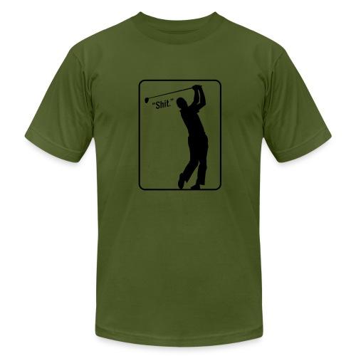 Golf Shot Shit. - Men's Fine Jersey T-Shirt
