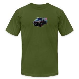The A-Team van - Men's Fine Jersey T-Shirt
