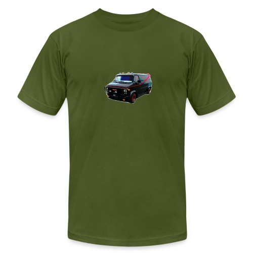 The A-Team van - Men's Fine Jersey T-Shirt