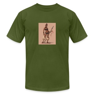 Female Warrior - Men's Fine Jersey T-Shirt