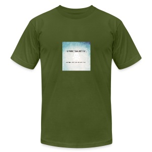 I do more than try - Men's Fine Jersey T-Shirt