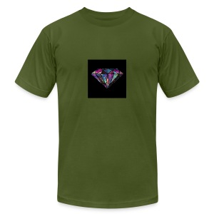 Diamondfashion - Men's Fine Jersey T-Shirt