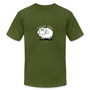 Feed My Sheep - Men's T-Shirt by American Apparel