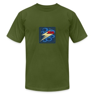 Rimps Logo Flash - Men's T-Shirt by American Apparel