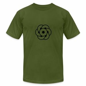 crop circles 32 - Men's Fine Jersey T-Shirt