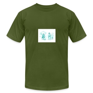 TEST DESIGN - Men's T-Shirt by American Apparel
