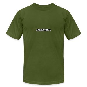 Mincraft MERCH - Men's T-Shirt by American Apparel