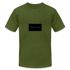 T H I C C T-shirts,hoodies,mugs etc. - Men's T-Shirt by American Apparel