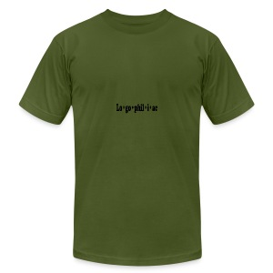 logophiliac - Men's T-Shirt by American Apparel