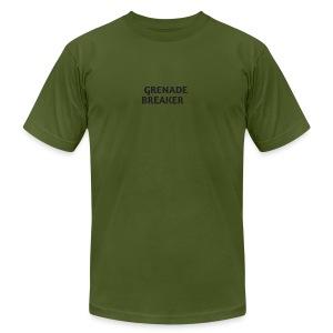 Grenade tank top - Men's Fine Jersey T-Shirt