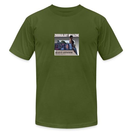 AD MAGAZINE WITH BIG REDD - Men's Fine Jersey T-Shirt