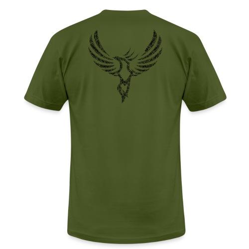 PAIN IS TEMPORARY [BLACK] - Men's Fine Jersey T-Shirt