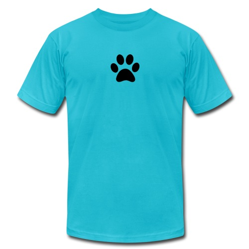 Paw print - Men's  Jersey T-Shirt