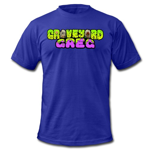 Graveyard Greg Logo! - Men's  Jersey T-Shirt