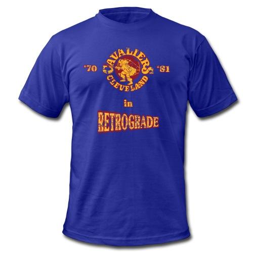 Warriors sending the Cavs back in time . '70/'81 - Men's  Jersey T-Shirt