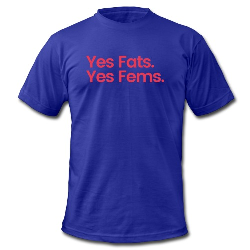 Beyr and Cubb Fats and Fems. - Men's  Jersey T-Shirt