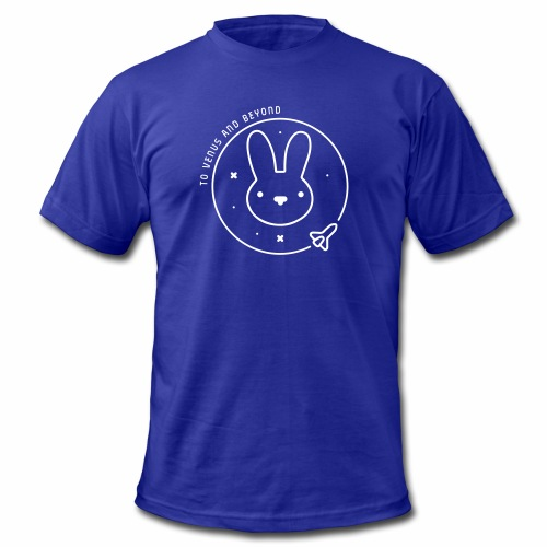 Space Bunny - To Venus And Beyond - Men's  Jersey T-Shirt