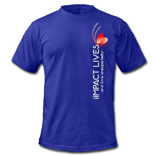 iImpact Lives and Give Unexpectedly! - Men's  Jersey T-Shirt