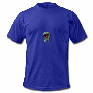 Zombie memeosauraus - Men's T-Shirt by American Apparel