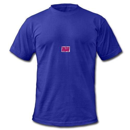 Pink Twitchgang Logo - Men's Fine Jersey T-Shirt