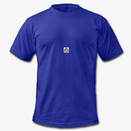 TapedUp Jumper - Men's Fine Jersey T-Shirt