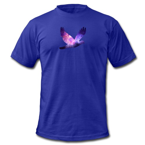 Galaxy bird - Men's Fine Jersey T-Shirt