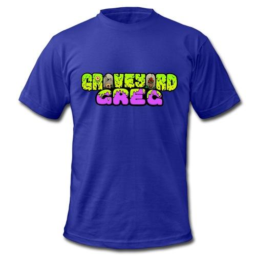 Graveyard Greg Logo! - Men's Fine Jersey T-Shirt